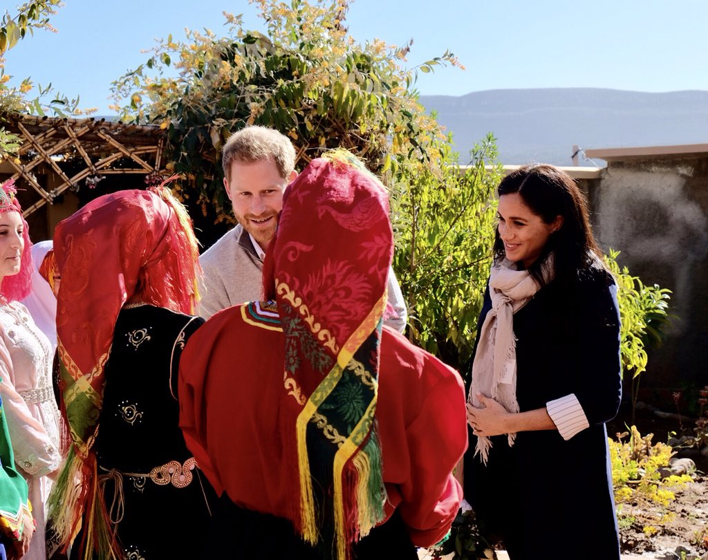 Meghan Markle Asni Morocco