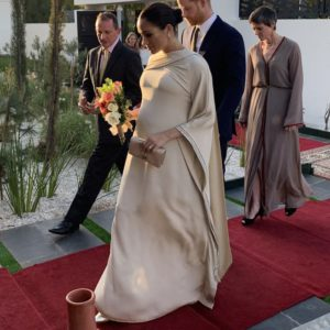 Meghan Markle Dior Gown Morocco