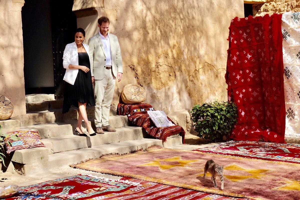 Meghan Markle Rabat Morocco