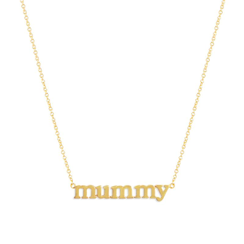 Meghan Markle Jennifer Meyer Mummy Necklace
