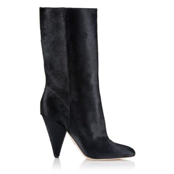 Meghan Markle Tamara Mellon Calf Hair Boots
