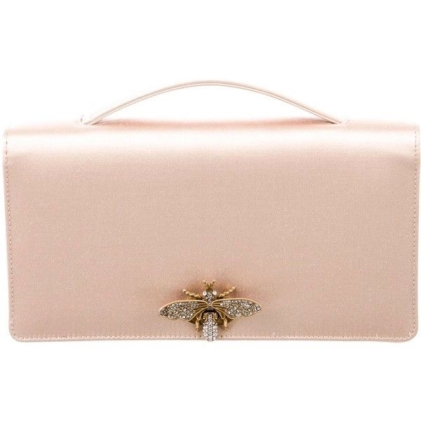 Meghan Markle Gold Dior Bee Clutch