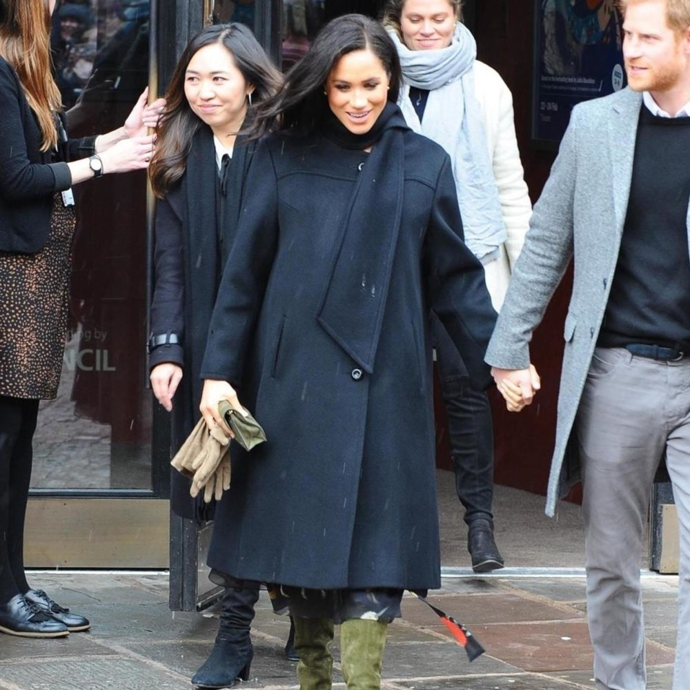 Duchess Sussex Vintage William Black 1960s Coat