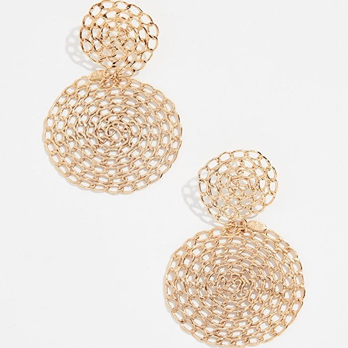 Meghan Markle Gas Bijoux Gourmette Earrings