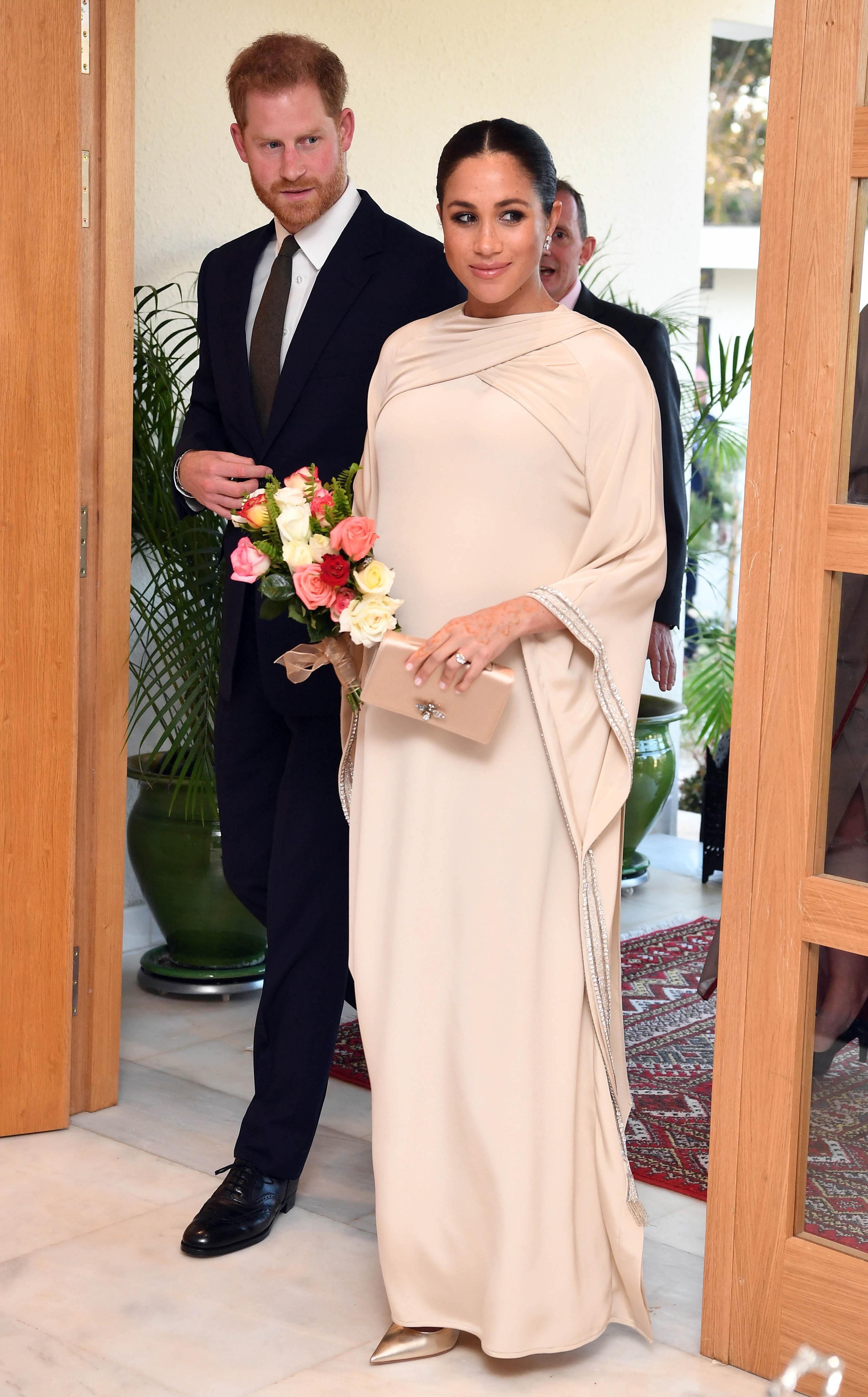 Meghan Markle Haute Couture A Look At Her Christian Dior Dress