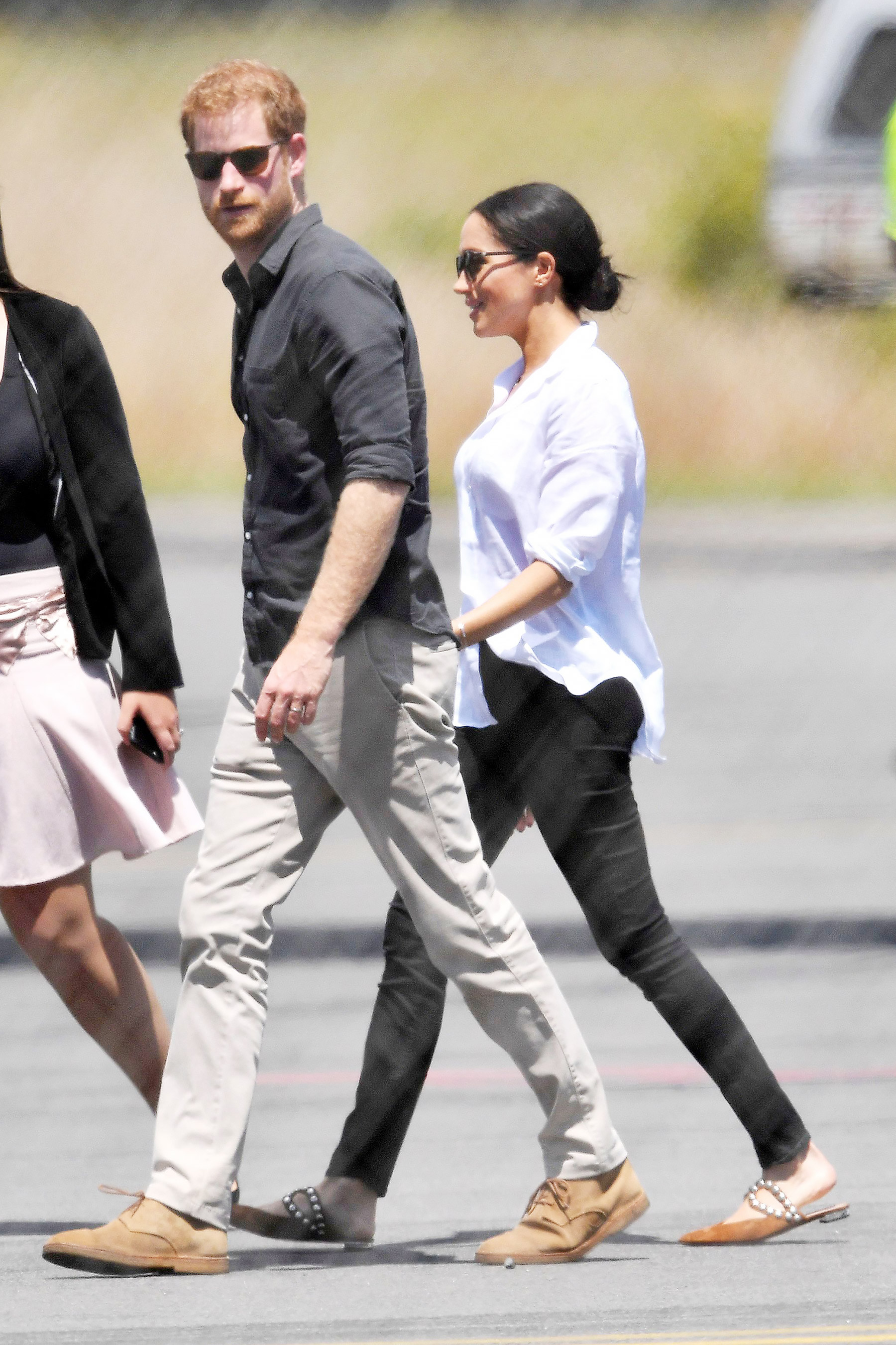 Meghan Markle Prince Harry Frank and Eileen