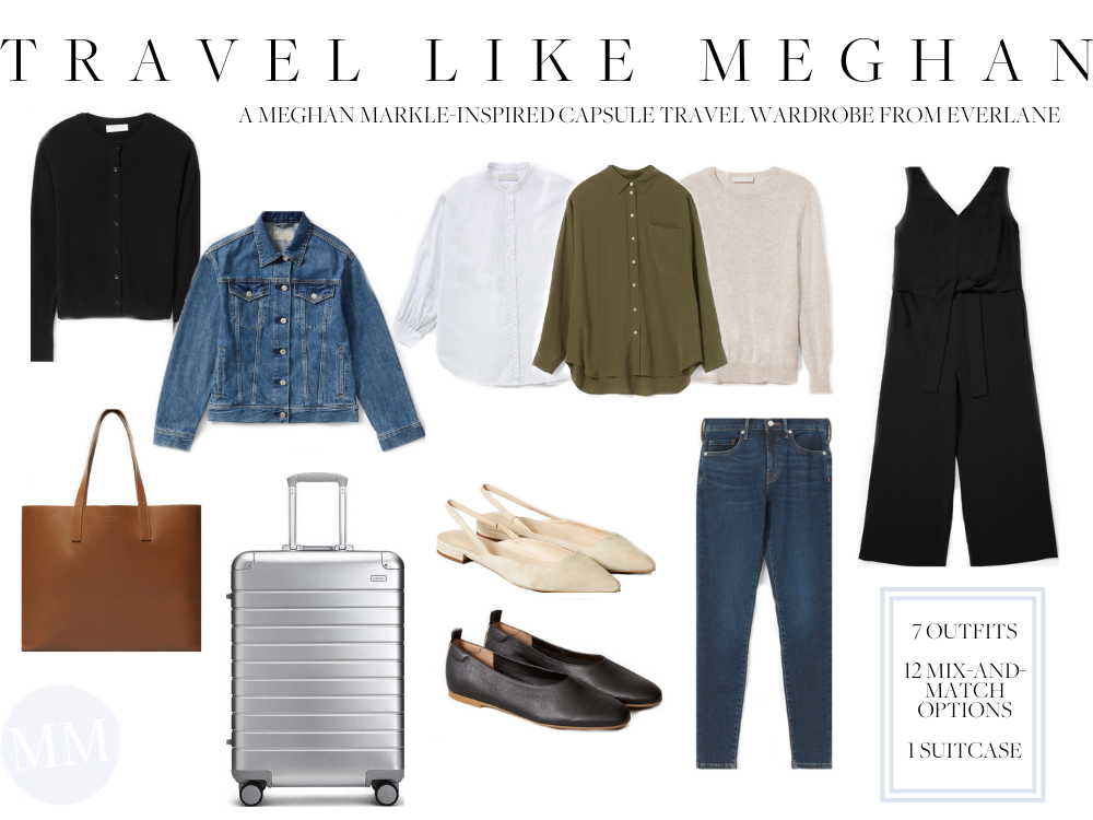 Meghan Markle Travel Pack Suitcase