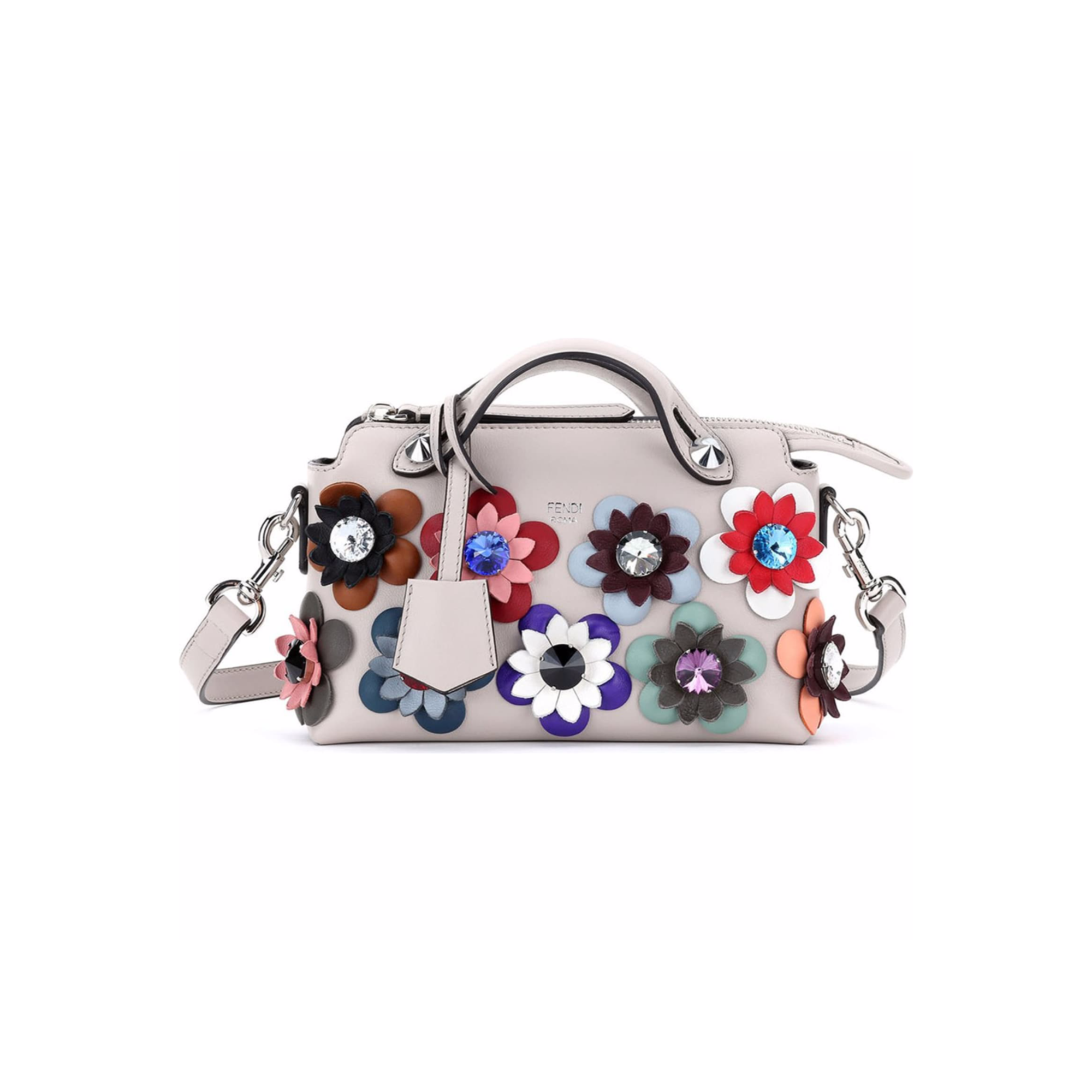Fendi 'Mini By The Way With Flowers' Bag