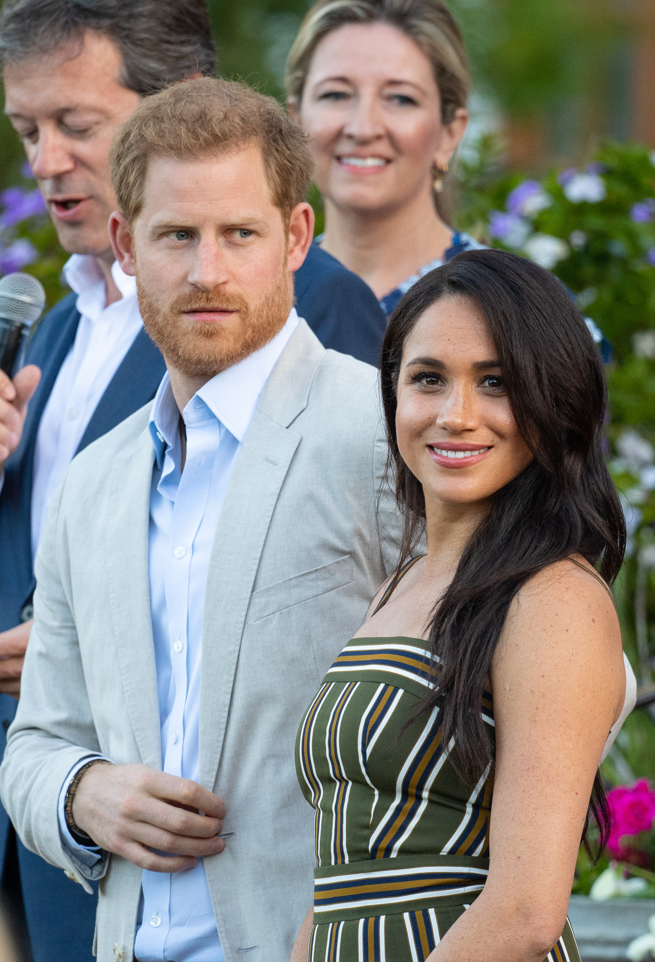 The Duke and Duchess of Sussex attend a reception for young people, community and civil society leaders at the Residence of the British High Commissioner in Cape Town, on day two of their tour of Africa.