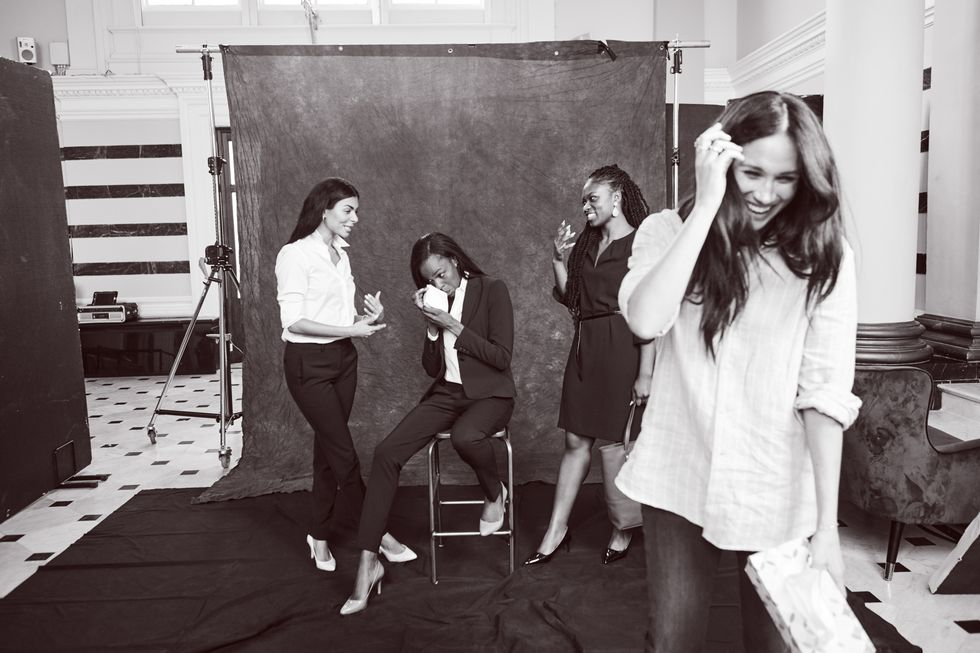 Smart Works SmartSet Photo Shoot Meghan Markle