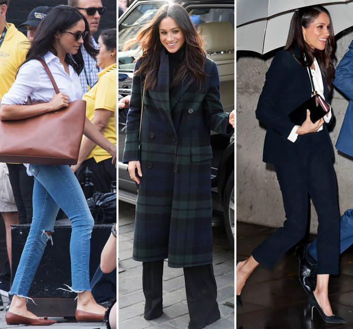 48f3c7806f A Look At Meghan Markle S Clutch Collection Mirror. Picture. Meghan Markle  S Handbags Fashion. Meghan Markle Carolina Herrera Off Shoulder